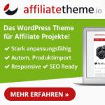Affiliatetheme.io, das optimale Theme für Affiliate- und Nischenseiten
